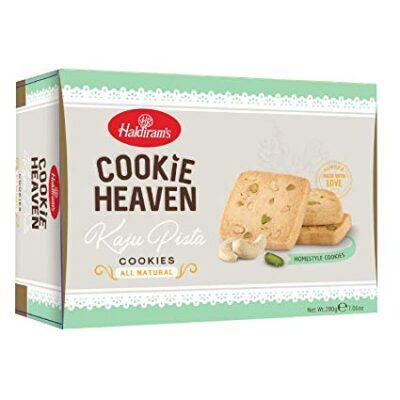 Печенье с Кешью и Фисташками (200 г), Kaju Pista Cookies, произв. Haldirams