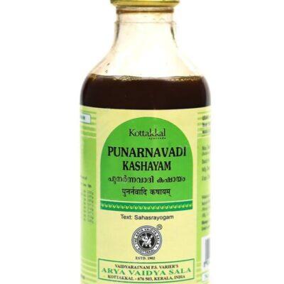 Пунарнавади Кашаям: от кожных отеков (200 мл), Punarnavadi Kashayam, произв. Kottakkal Ayurveda