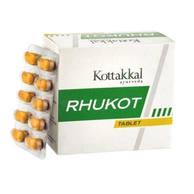 Рукот: обезболивающее (100 таб), Rhukot, произв. Kottakkal Ayurveda