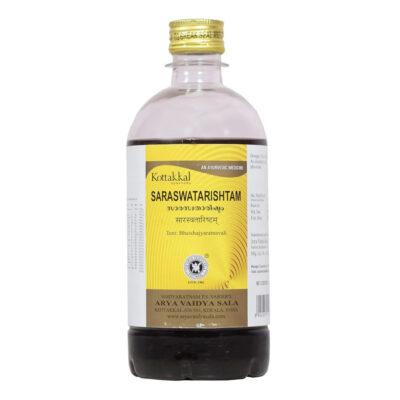 Сарасватариштам: для улучшения умственной деятельности (450 мл), Saraswatarishtam, произв. Kottakkal Ayurveda