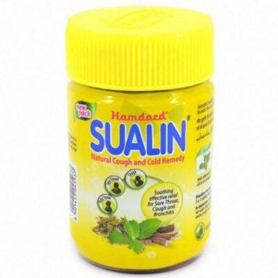 Средство для лечения простуды и кашля Суалин,