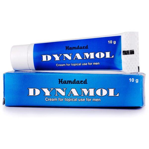 Стимулирующий интимный крем для мужчин Динамол, 10 г, производитель Хамдард; Dynamol cream, 10 g, Hamdard