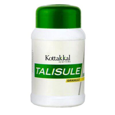 Талисул в гранулах: от заболеваний органов дыхания (100 г), Talisule granule, произв. Kottakkal Ayurveda
