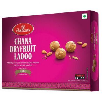 Чана Ладу с сухофруктами (400 г), Chana Dry Fruit Ladoo, произв. Haldiram's