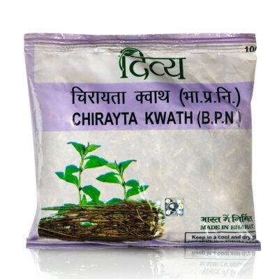Чирайта Кватх: аюрведический чайный напиток (100 г), Chirayta Kwath, произв. Patanjali