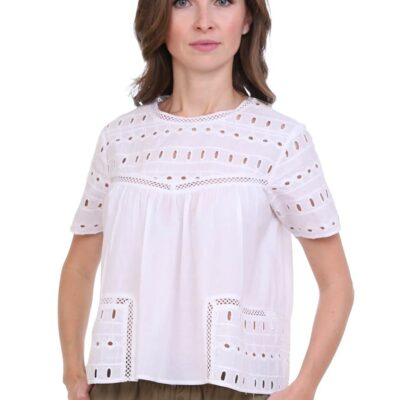 Блузка (хлопок) шитье №19-220-1 3шт.уп