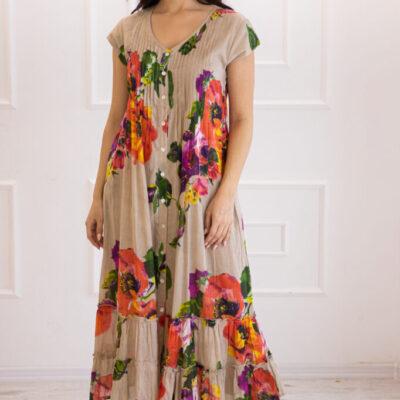 Платье (хлопок) №20-