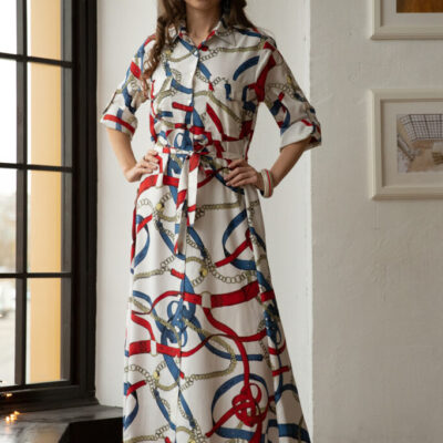 Платье (вискоза) №20- 297-7 4шт.уп