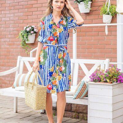 Платье (вискоза) №20- 307-3 5шт.уп