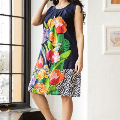 Платье (вискоза) №20- 330-1 4шт.уп