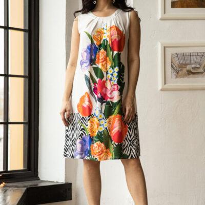 Платье (вискоза) №20- 330-2 4шт.уп