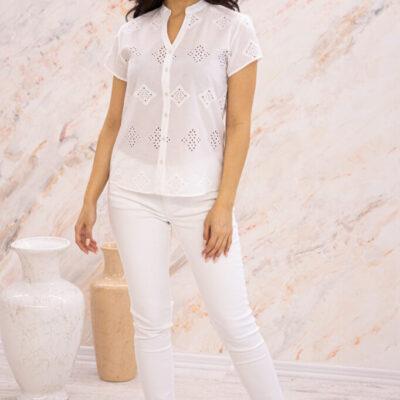 Блузка (хлопок) шитье №20-363-1 4шт.уп