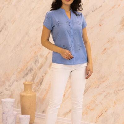 Блузка (хлопок) шитье №20-363-3