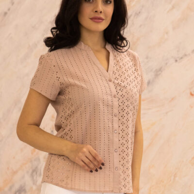 Блузка (хлопок) шитье №20-364-2