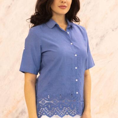 Блузка (хлопок) шитье №20-374-2 4шт.уп