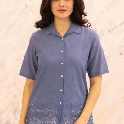 Блузка (хлопок) шитье №20-374-3 4шт.уп