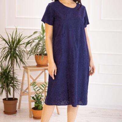 Платье (хлопок) с вышивкой №20-331-1 4шт.уп