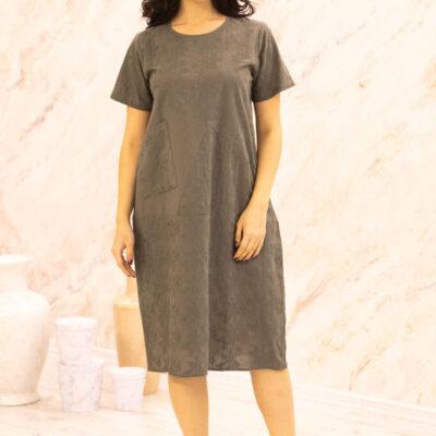 Платье (хлопок) с вышивкой №20-331-2 4шт.уп