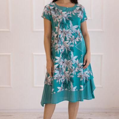 Платье (хлопок) №20- 119-4 4шт.уп