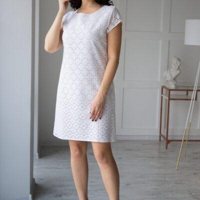 Платье (хлопок) кружевом №20-107-1 4шт.уп