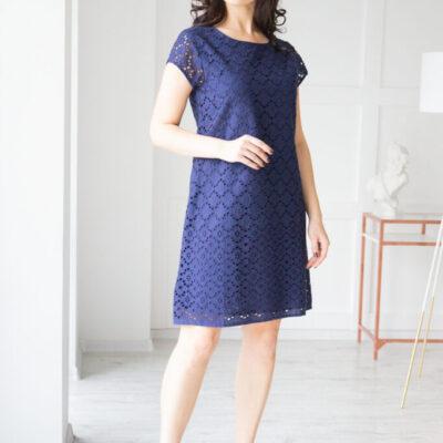Платье (хлопок) кружевом №20-107-2 4шт.уп