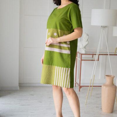 Платье (хлопок) №20- 327-2 4шт.уп