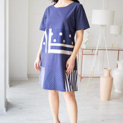 Платье (хлопок) №20- 327-3 4шт.уп