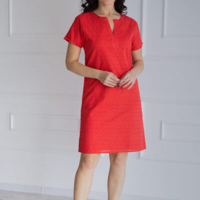 Платье (хлопок) шитье №20-337-2 4шт.уп