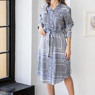 Платье (вискоза) №20- 350-1 4шт.уп