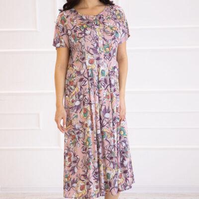 Платье (вискоза) №20- 384-2 4шт.уп