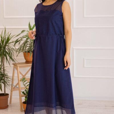 Платье (хлопок) c кружевом №20-345-1 4шт.уп