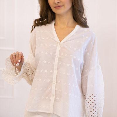 Блузка (хлопок) шитье №20-373 2шт.уп