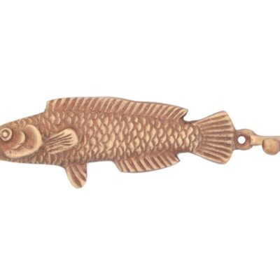 "Вешалка-крючок № Пи6862 (антик) ""Рыба"" 2"