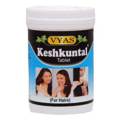 Кешкунтал: для роста волос (100 таб), Keshkuntal, произв. Vyas