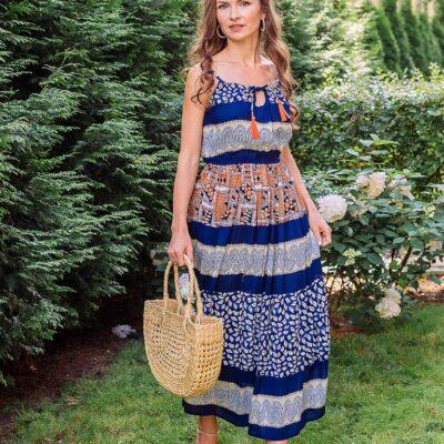 Платье (вискоза) №Пл18-064-1