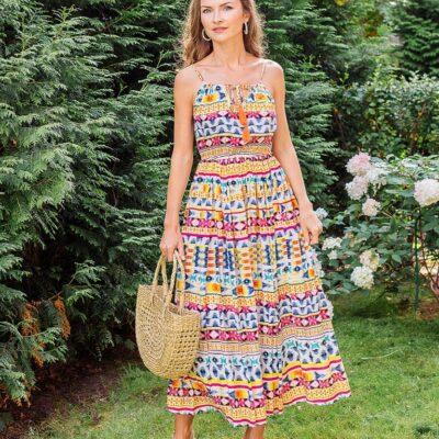 Платье (вискоза) №Пл18-064-2
