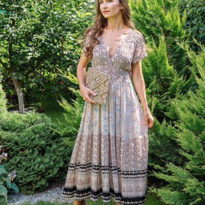 Платье (вискоза креп) №Пл18-065-2