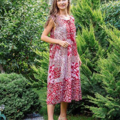 Платье (вискоза креп) №Пл18-070-2