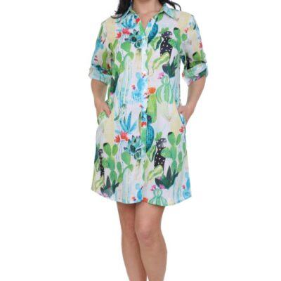 Рубашка-туника (хлопок) №19-083-6