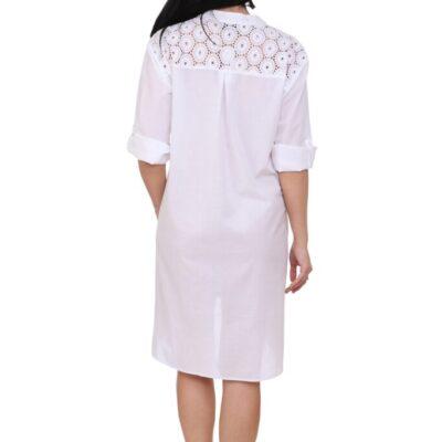 Рубашка-туника (хлопок) №19-212-2-1