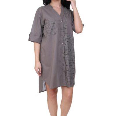 Рубашка-туника (хлопок) №19-212-2-3