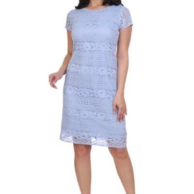 Платье с кружевом №19- 198-1