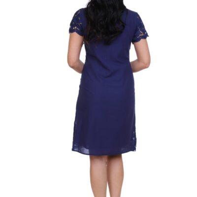 Платье с кружевом №19- 199-2 4шт.уп