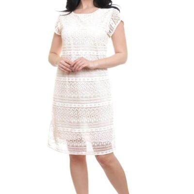 Платье с кружевом №19- 201 4шт.уп