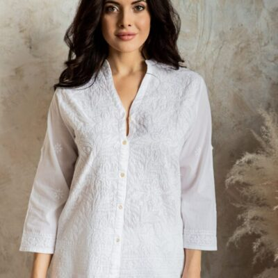 Рубашка (хлопок) с вышивкой №20-127 5шт.уп