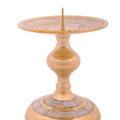 Подсвечник на 3 свечи патина № Коп2230