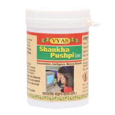Шанкха Пушпи (100 таб), Shankha Pushpi, произв. Vyas