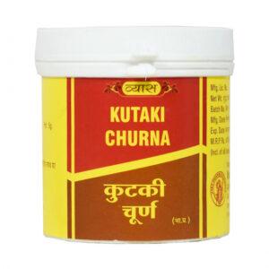 Кутки Чурна: для здоровья печени (50 г), Kutaki Churna, произв. Vyas