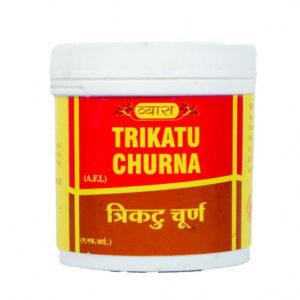 Трикату Чурна: для пищеварения (100 г), Trikatu Churna, произв. Vyas